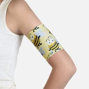 Dia-Band Bee Happy beschermt je sensor