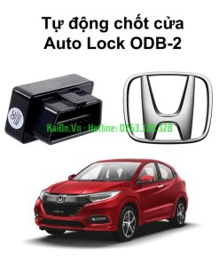 Chốt cửa tự động Auto lock Unlock xe Honda