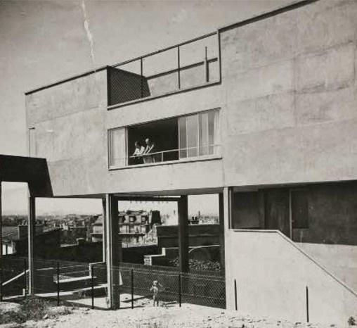 1933 : Façade sur parc