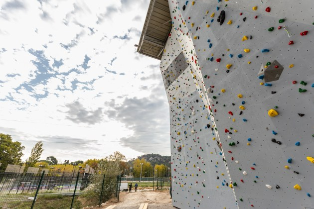 Mur extérieur Climb'Up Aix