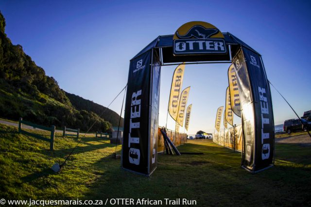 The OTTER African Trail Run, presented by SALOMON, is an annual off-road marathon run along the coastline of the Garden Route National Park, between Storms River Mouth and Nature's Valley, Western Cape, South Africa