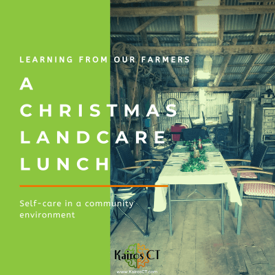 a landcare Christmas: self-care in a demanding profession