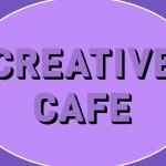 Creative Cafe (on a purple background)