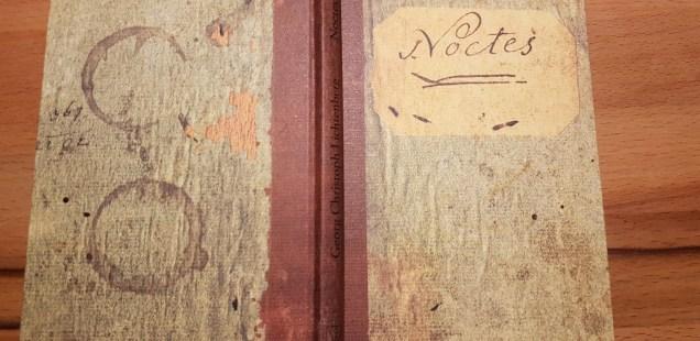 G. C. Lichtenberg: Noctes - ein Notizbuch