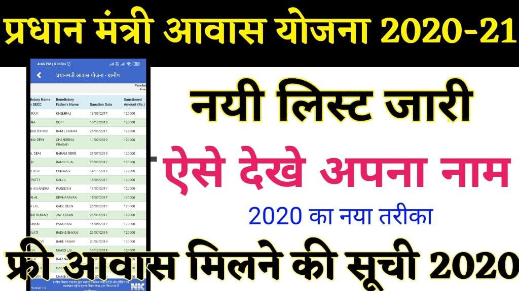 Gram samvaad App Se Pradhanamntri Awas Yojana New List । PMAY List