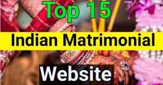 Top 15 matrimonial sites in India