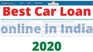 Best Car Loan online in India 2020