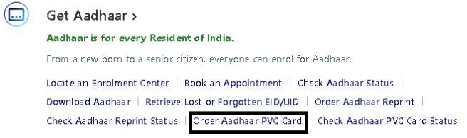 PVC Aadhaar Card Online Order Kaise Kare In Hindi