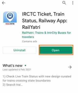Railyatri app check train staus