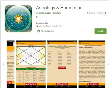Download Astrology and Horoscope Android App