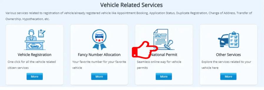 Online National Permit kaha se kare