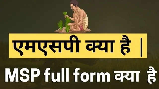 MSP full form in Hindi