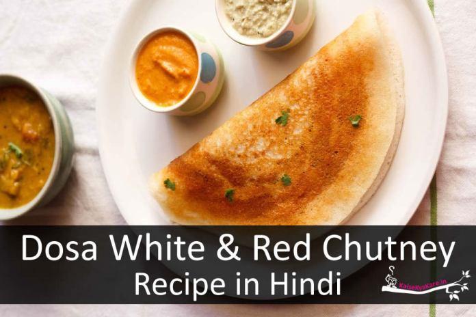 Dosa Chutney Recipe in Hindi