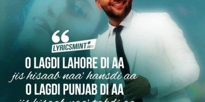 Lahore Lyrics in Hindi   Guru Randhawa