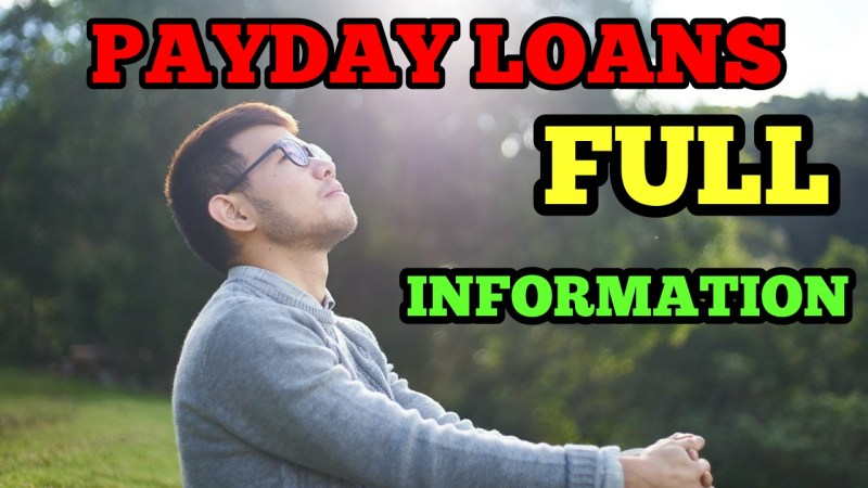 Payday Loans all information for new customer