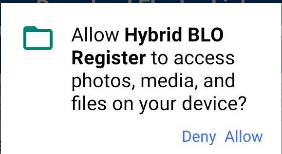 How to Download Hybrid BLO Register Ap