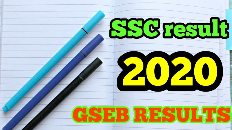 GSEB SSC Result 2020,GSEB 10th Result 2020