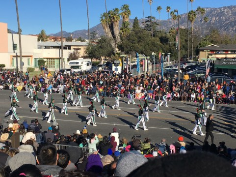 KHS Band & Guard and Tournament of Roses Parade