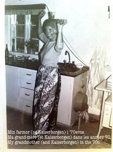 Min farmor i 70'erne