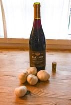 Opskrift med rødvin
