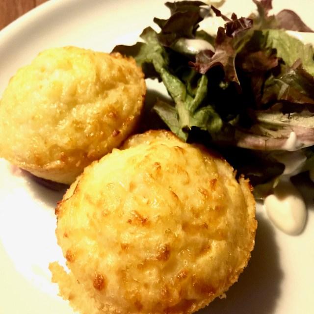 Omeletmuffins med salat