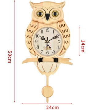 KA035 details - A18KCKA035M Owl Clock
