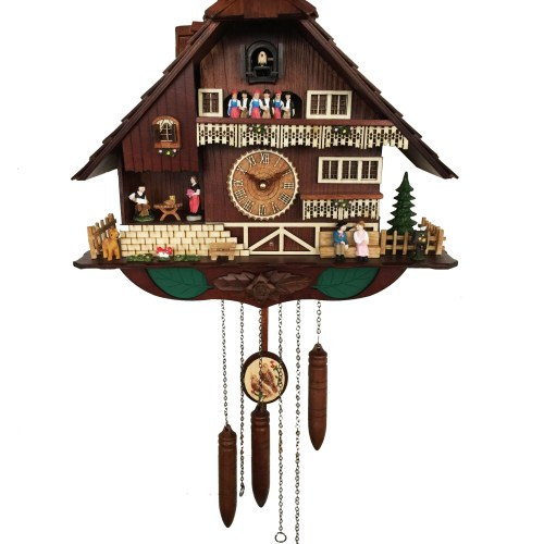 KW2625M - A18KCKW2625MD Kaiser Chalet style Cuckoo Clock
