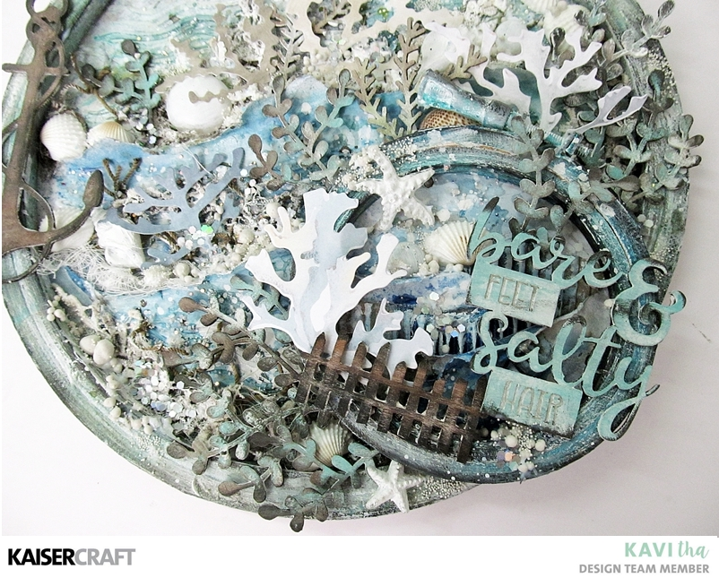 Sea side treasures – Tutorial tuesday post by Kavitha