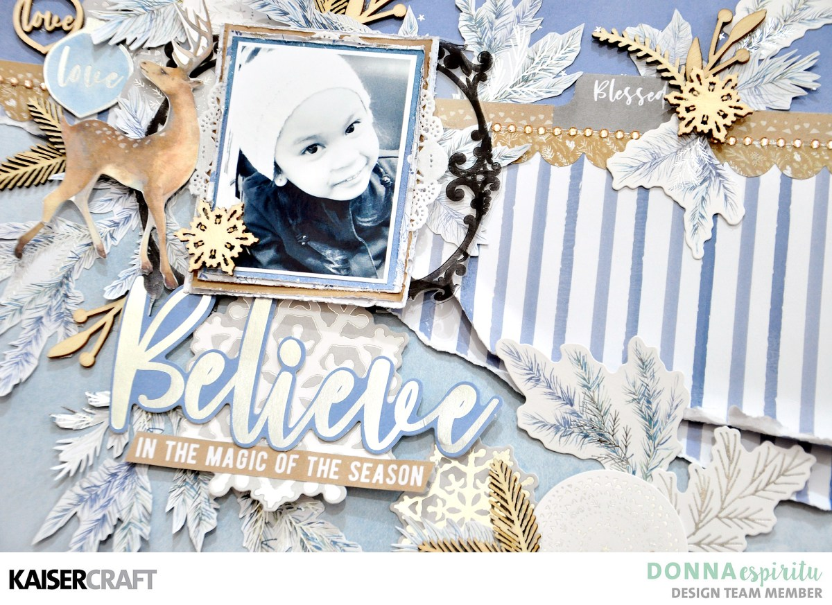 Believe | Whimsy Wishes Layout
