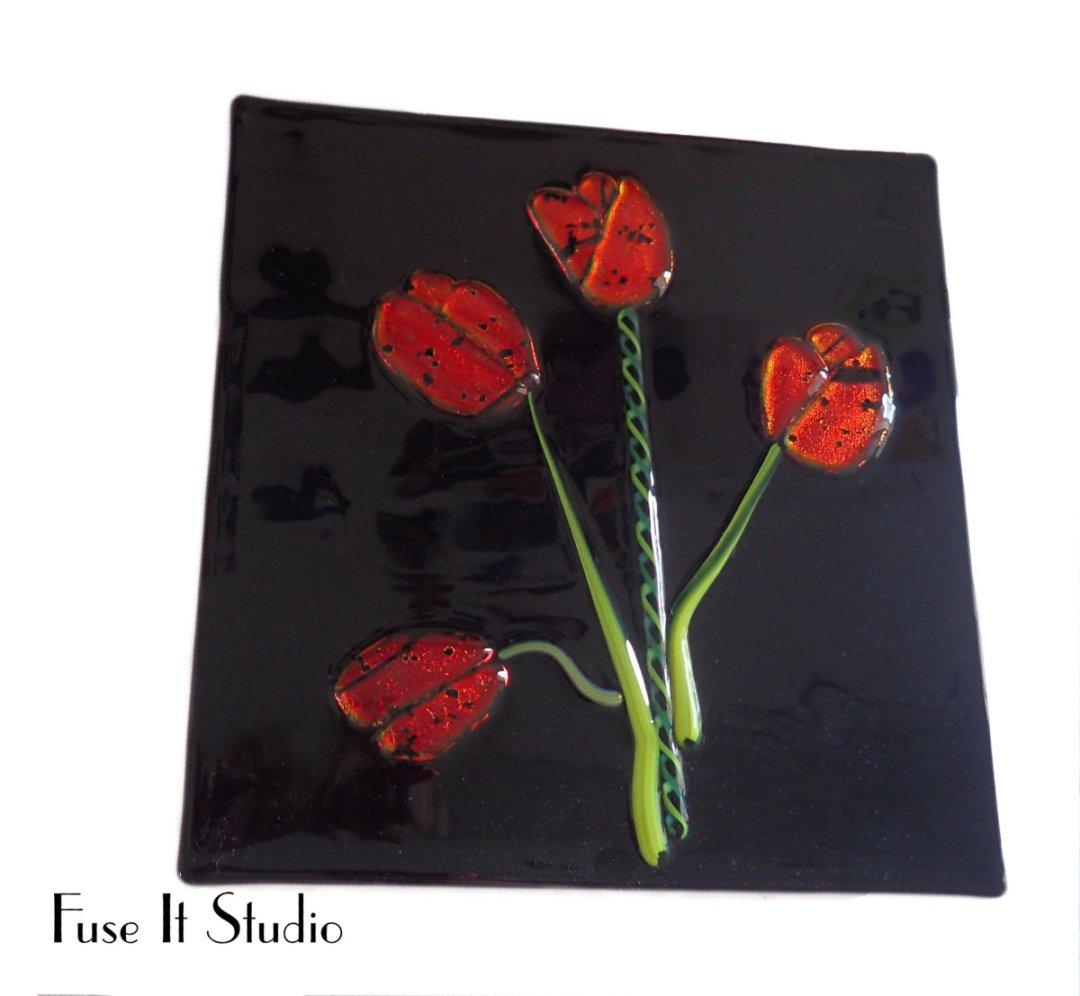 Tulips by Bobbie Radcliff