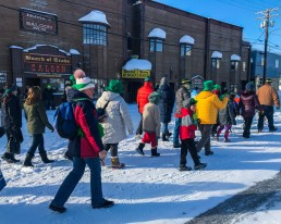 Nome's St. Patrick's Day Parade