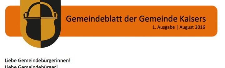 Gemeindeblatt
