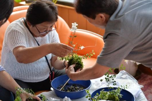 苔玉作り教室