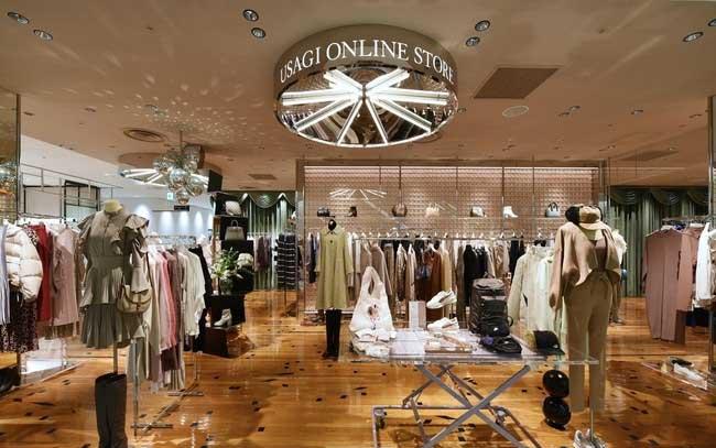 USAGI ONLINE STORE心斎橋PARCO店