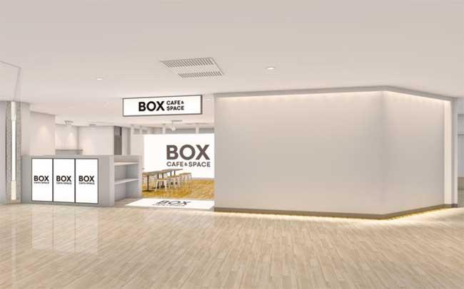 BOX cafe&space 新宿ミロード店
