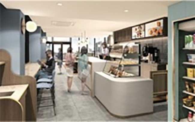 GODIVA café ecute EDITION飯田橋