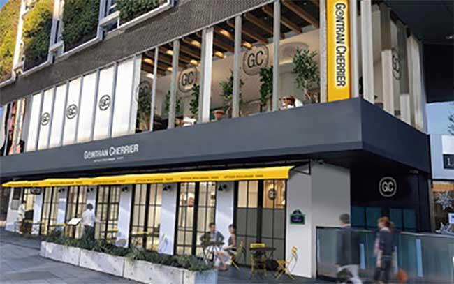 ベーカリー&カフェ ゴントラン シェリエ東京⻘山店