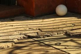 Gray Sphere in Shadow