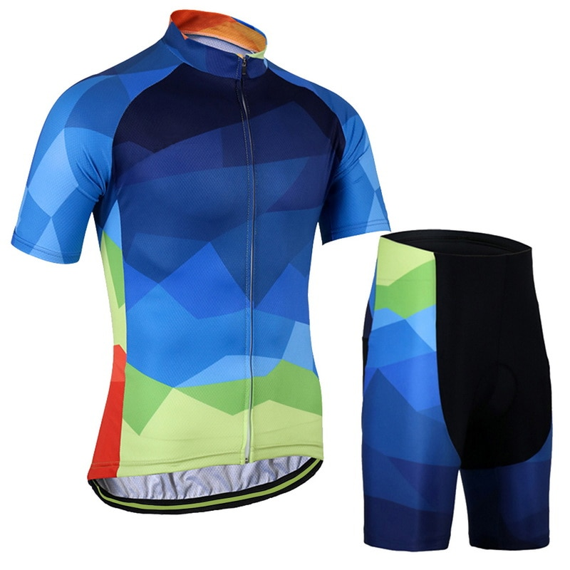 Cycling Jersey MTB Mountain bike Clothing Men Short Set