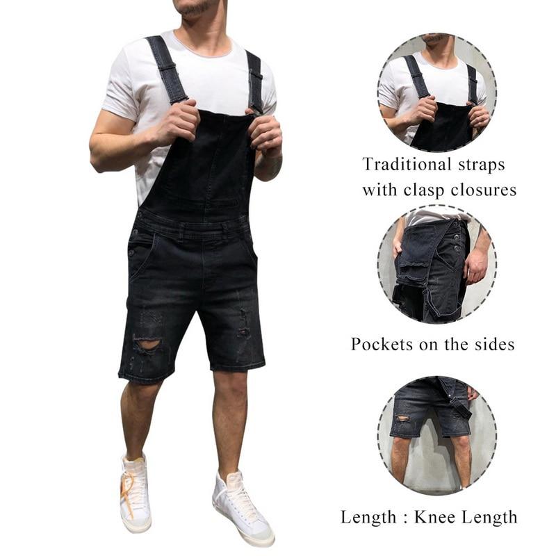 JODIMITTY Men's Demin Jumpsuit Pants