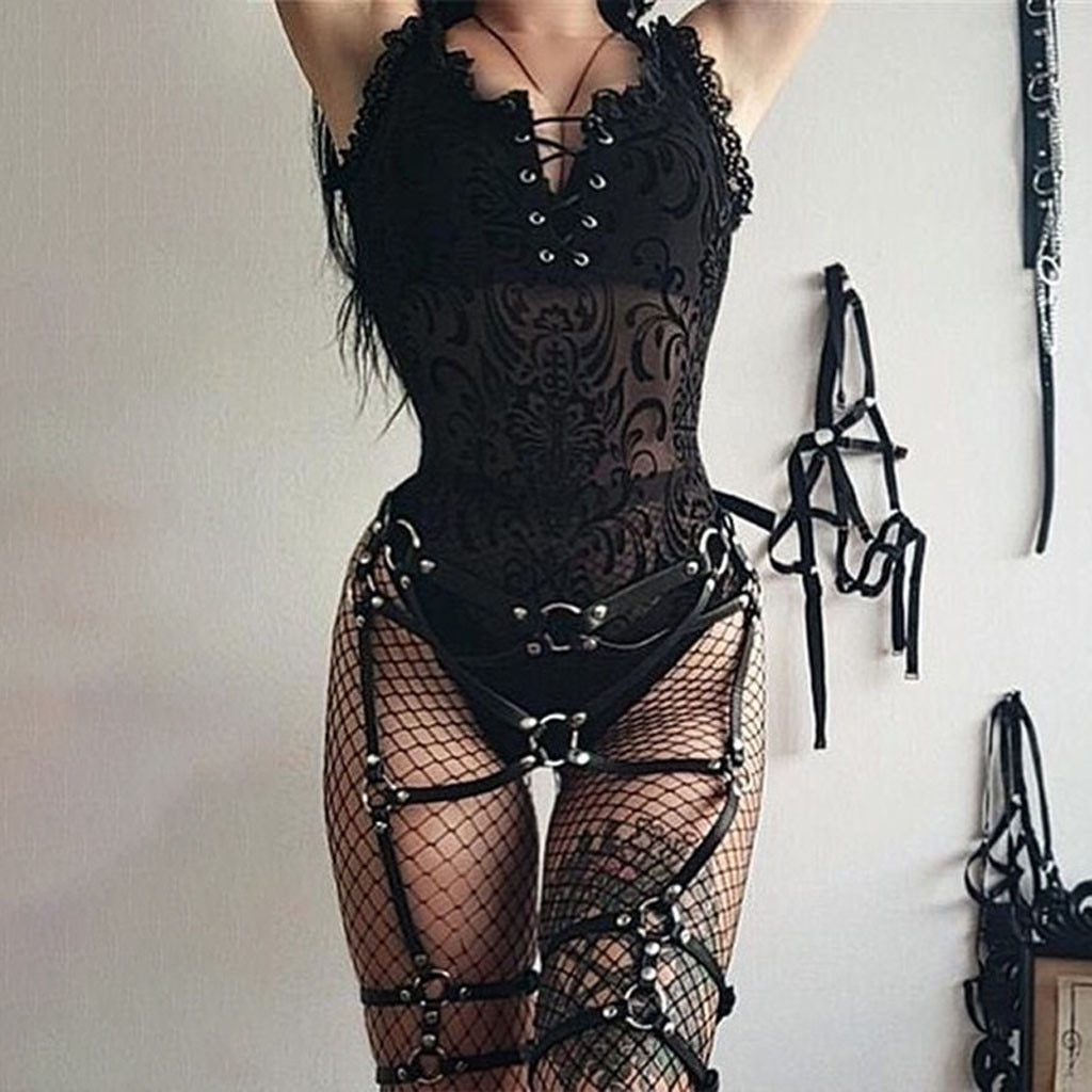 Sexy Body Jumpsuit Lace Chic Sexy Black Bodysuit