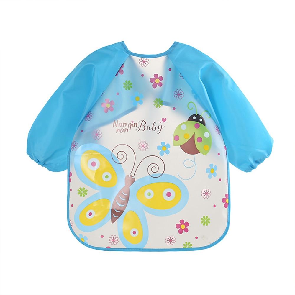 Waterproof Feeding Art Apron Bib Smock Cute Animal Bibs Cloths