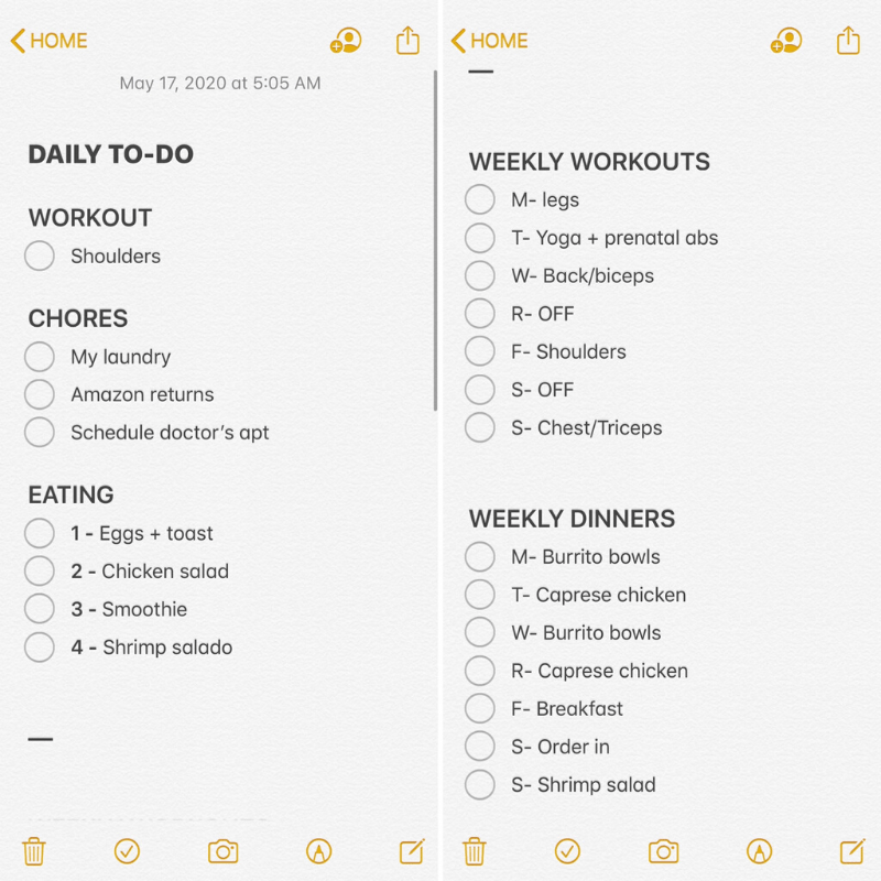MY CURRENT DAILY + WEEKLY PLANNING ROUTINE PRODUCTIVITY ORGANIZATION | KAITLYN MOORHEAD