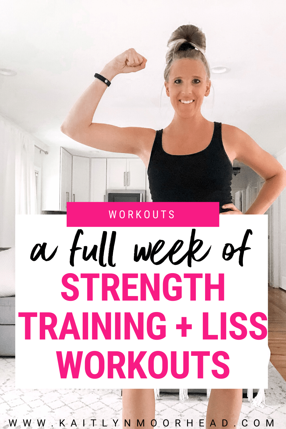 This FREE 7-day workout plan for women can be done at home or at a gym with just a few sets of dumbbells! Ready to see results? In just 30 minutes, these weightlifting workouts raise your heart rate, build muscle, + help you lose weight! Each work out is broken down with daily guided workout videos. This challenge is perfect if you're looking for a fitness routine to keep you motivated + inspired to create a weekly fitness routine so you can see results. Click for your full week of workouts!