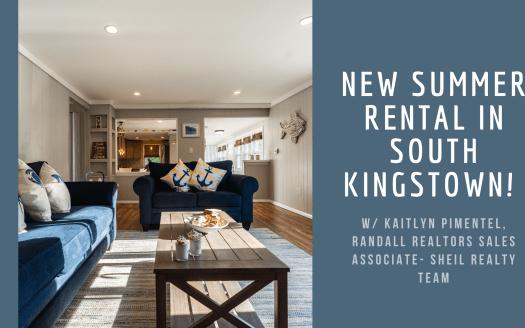 Summer Rental South Kingstown Rhode Island