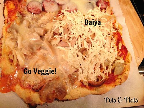 Go veggie cheese