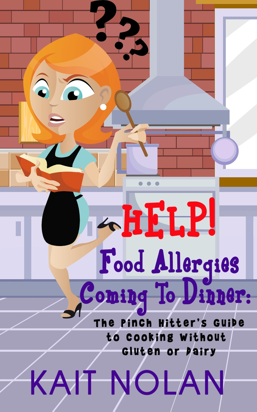 Book Cover: HELP! Food Allergies Coming To Dinner