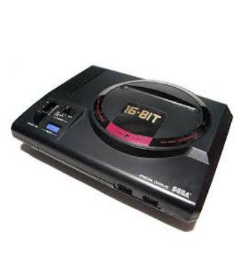 MEGA DRIVEゲーム機本体