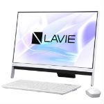NEC LAVIE Desk All-in-one DA350/HAW PC-DA350HAW ファインホワイトの画像