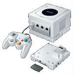 ゲームキューブ本体 ファイナルファンタジー・クリスタルクロニクル クリスタルホワイトの画像